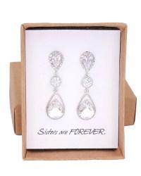 Vintage diamond earrings | Etsy