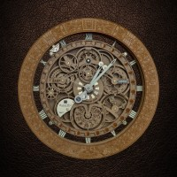 137 UNIQUE Astronomical Wall Clock PERSONALIZED