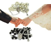 Items similar to Wedding Rosary Set | Wedding Rosaries ...