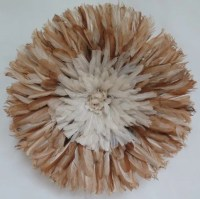 Authentic juju hat Wall decor feather headdress