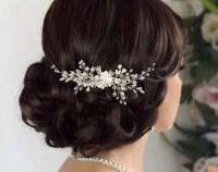 Bridal Flower crown Bridal hair vine White flower crown Leaf