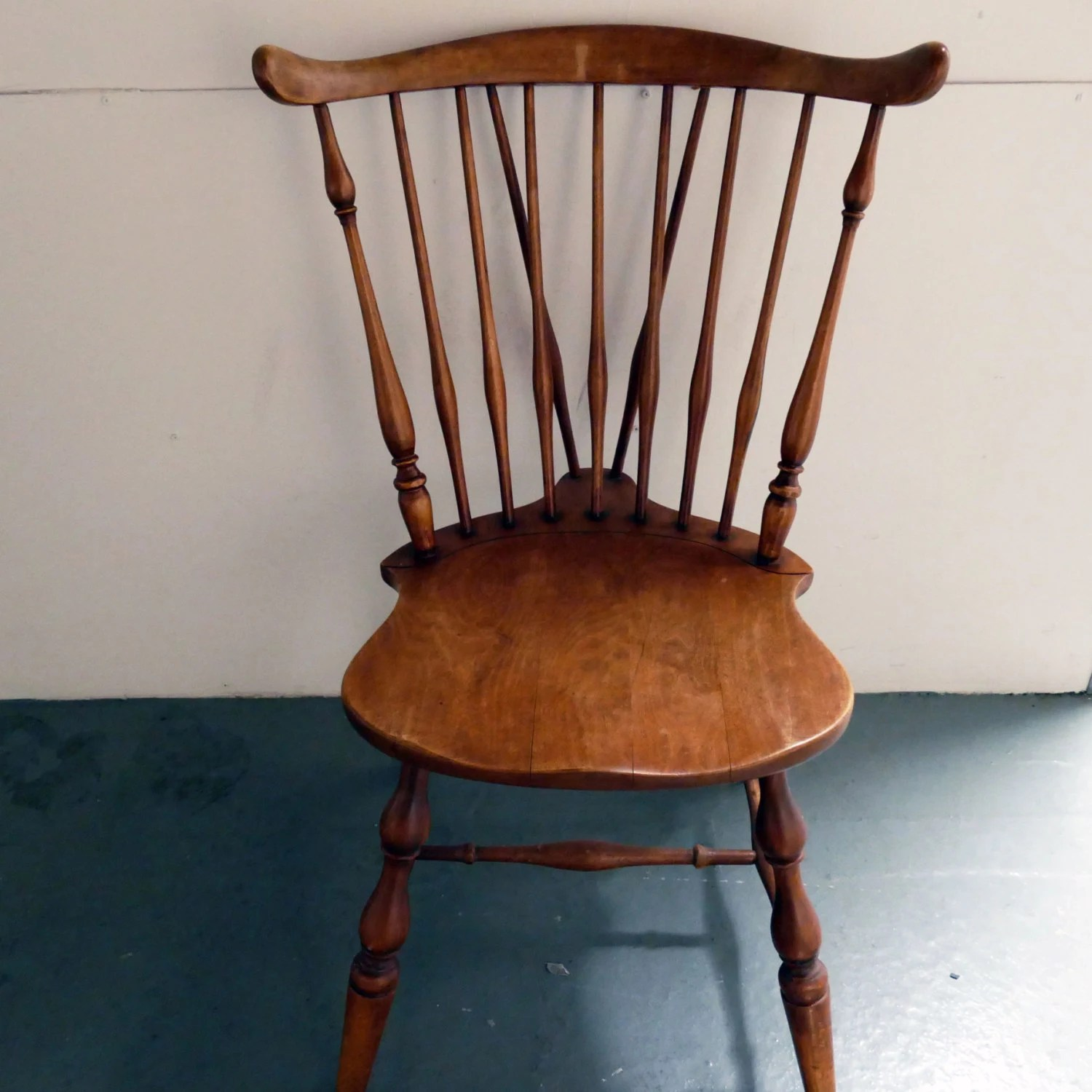 Vintage spindle back chair  Etsy