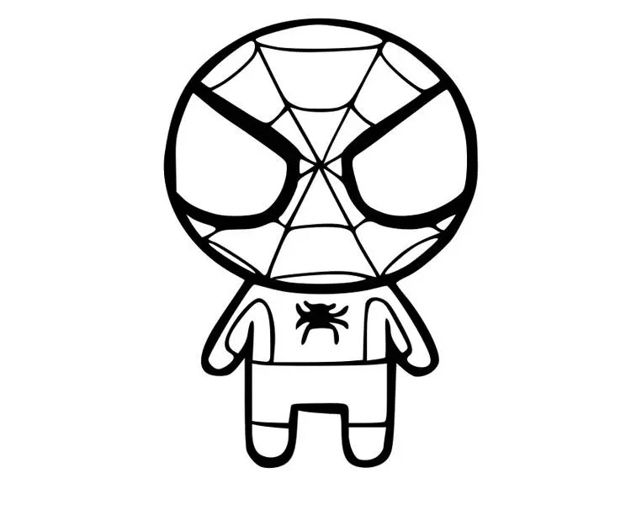 Spiderman svg, spiderman dfx, superhero svg, cute