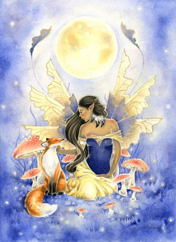 Fox Moon Fairy