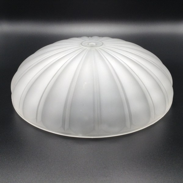Frosted Ceiling Light Melon Style Globe . Replacement