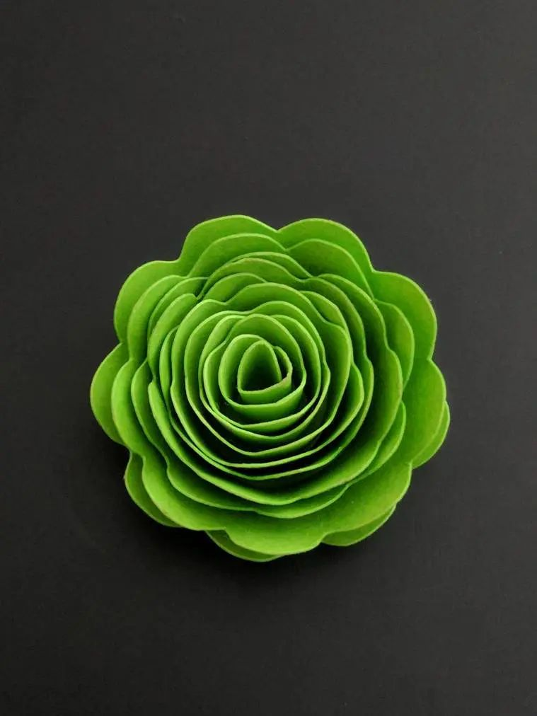 paper flower template svg