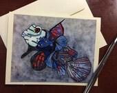 Brilliant Mandarin Fish N...