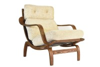 Mid Century Modern Pearsall Style Platform Sofa / Daybed