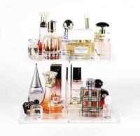 2 Tier Perfume Tray Acrylic Makeup Organizer Perfume