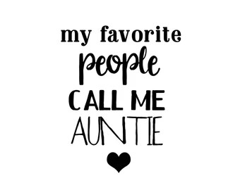 Download Call my auntie | Etsy