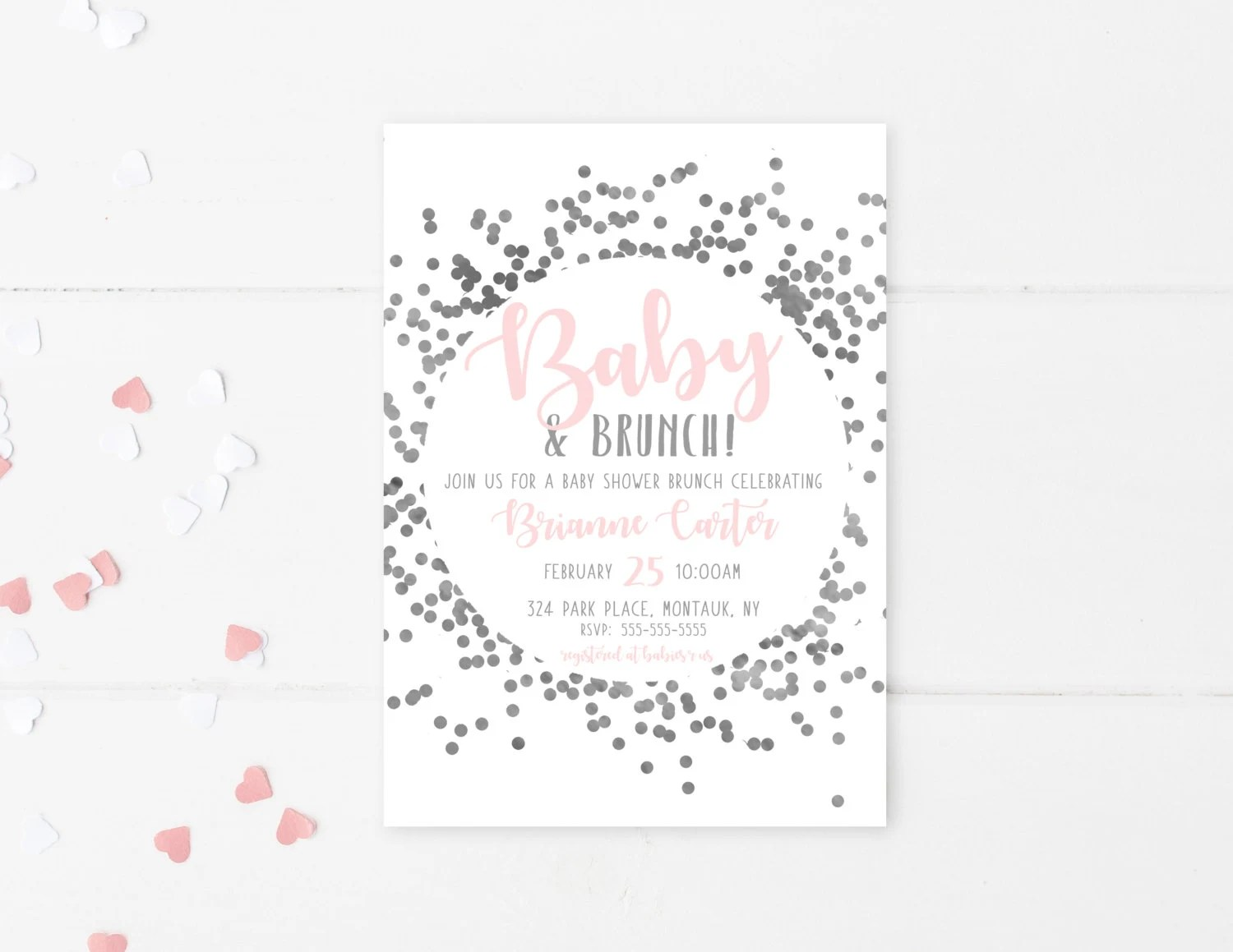 Customized invitations made just for you by TrendyPrintables