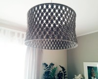 Items similar to Knitschka Macrame Lamp Shade on Etsy