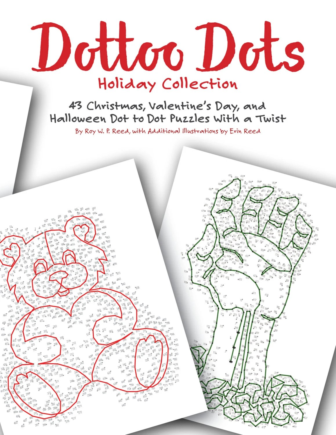 Holiday Dot To Dot Book 43 Different Skip Counting Puzzle