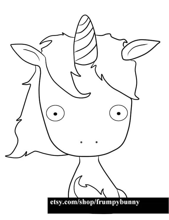 Unicorn embroidery pattern/Digital stamp, Digi, jpg