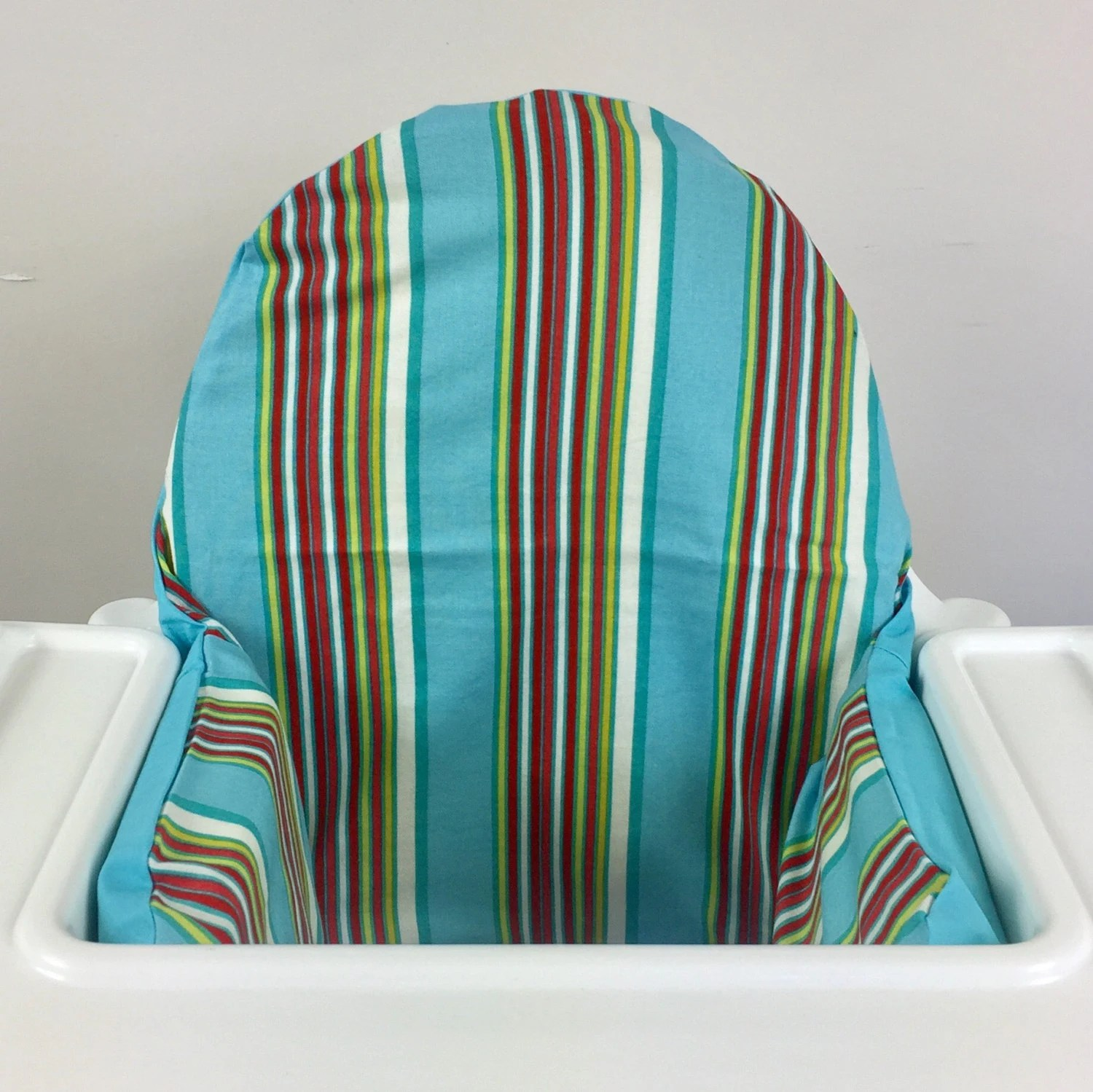 antilop high chair wooden kitchen chairs gumtree striped ikea highchair cushion cover with