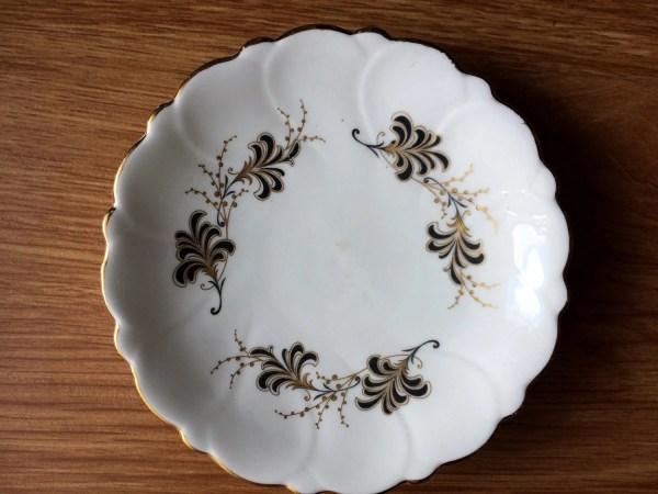 Royal Adderley Floral Bone China Pin Dish Butter Dish