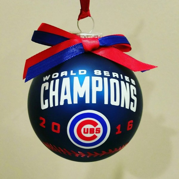 Cubs Christmas Ornaments.113 Collection Of Chicago Cubs Christmas Ornaments All
