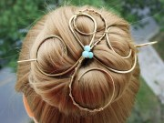 hair bun holder large clip