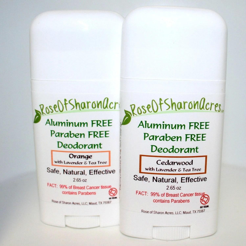 Deodorant Stick Aluminum Paraben And Triclosan Free