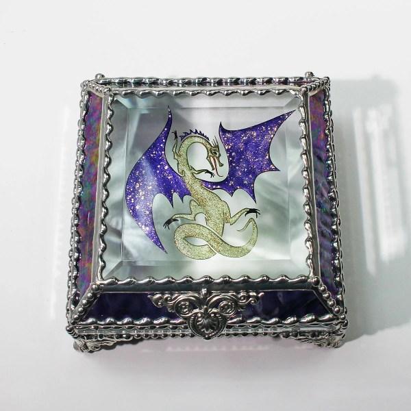 Celtic Dragon Jewelry Box