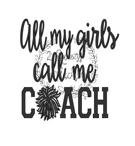 Cheerleader Cheer girls cheer coach school spirit coach