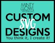 custom svg design - cut