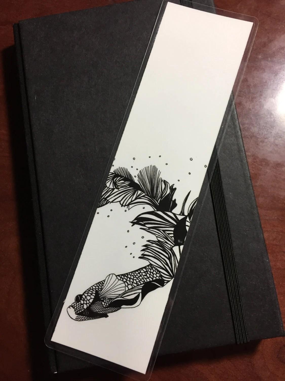Beta Fish - Original Ink ...