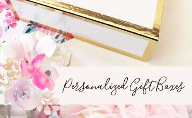 Personalized Gift Box For Women Christmas Gift Box Gift