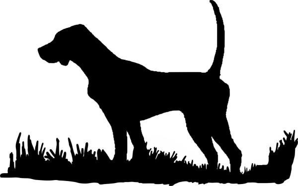 English Pointer Silhouette Bird Dog Upland Hunting Decal