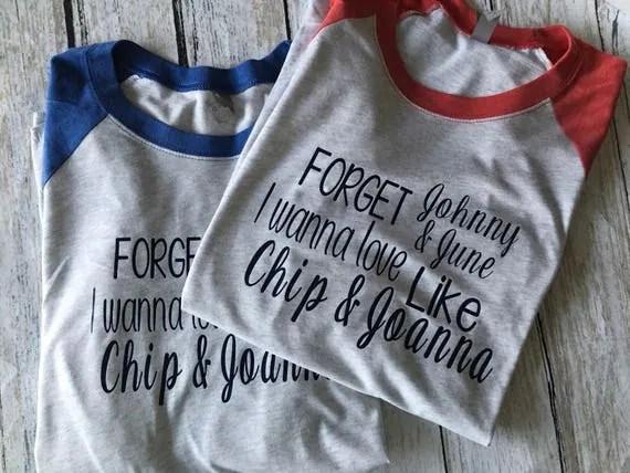 Download Chip and Joanna Shirt Joanna Gaines Shirt Fixer Upper Shirt