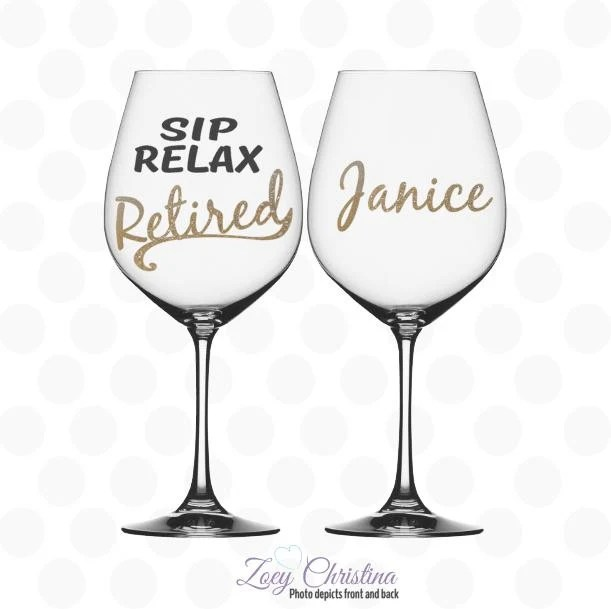 Retirement gifts Retirement gift for women Sip relax