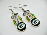 Green Bay Packers Jewelry Green Bay Packers Earrings GB