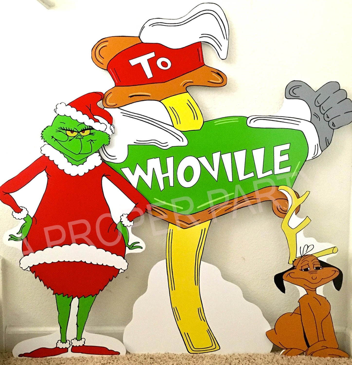 Grinch Who Stole Christmas Whoville Grinch Party By
