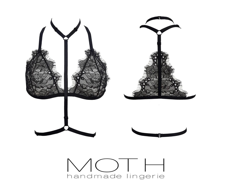 Handmade lingerie and silk sleepwear by MariMothLingerie