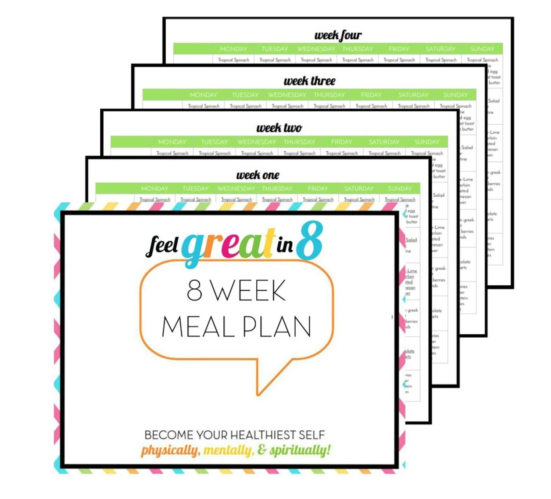 8 Week Meal Plan
