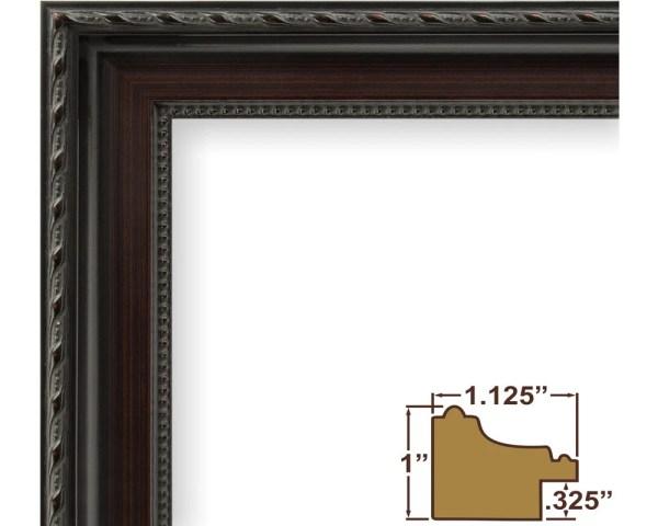 Craig Frames 12x18 Dark Walnut Frame Annesbury