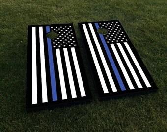Thin blue line flag  Etsy