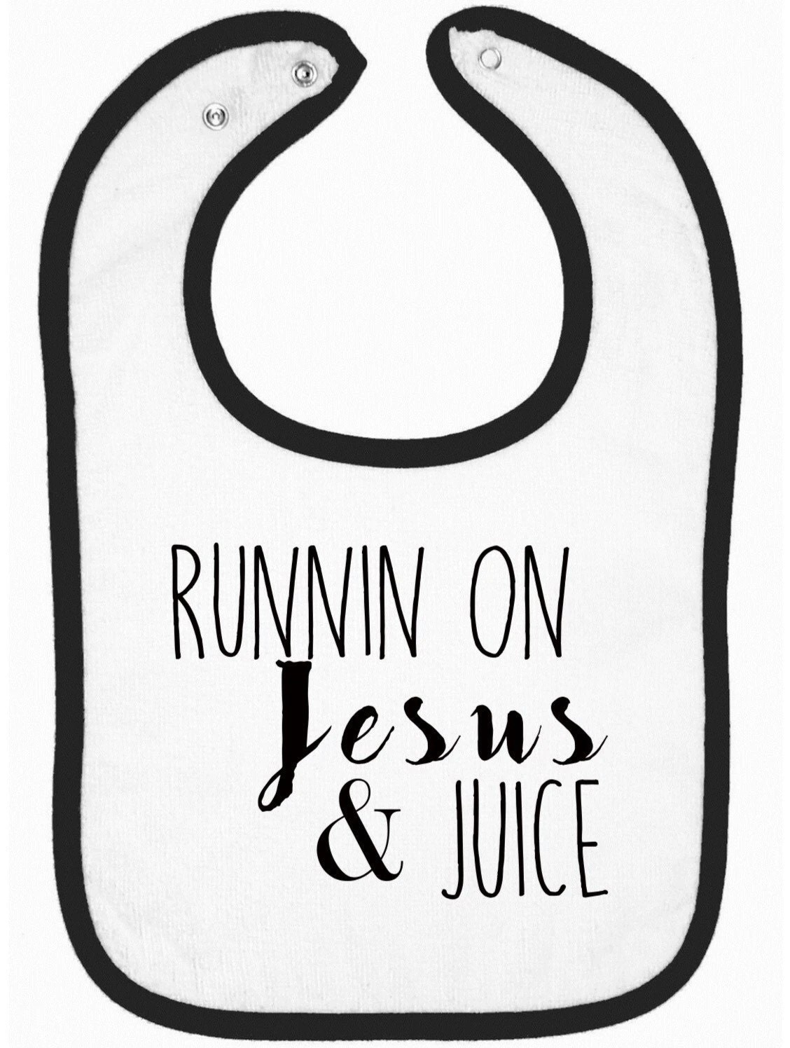 Runnin On Jesus And Juice Sippy Cup Baby Graphic