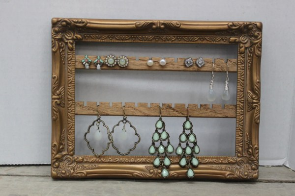 Wall Mount Jewelry Organizer Hanging Creativelycluttered