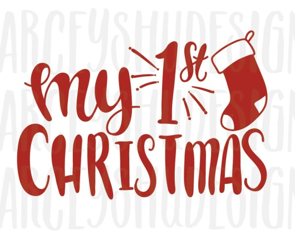 christmas hand lettered