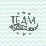 team cousins svg file