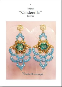 TUTORIAL Cinderella earrings / orecchini