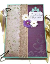 Items similar to Bridal Shower Memory Book, Bachelorette ...