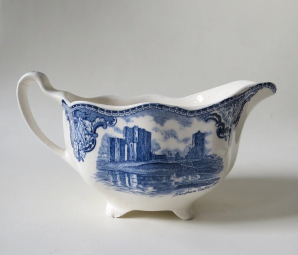Vintage Johnson Bros. Britain Castles Porcelain Creamer