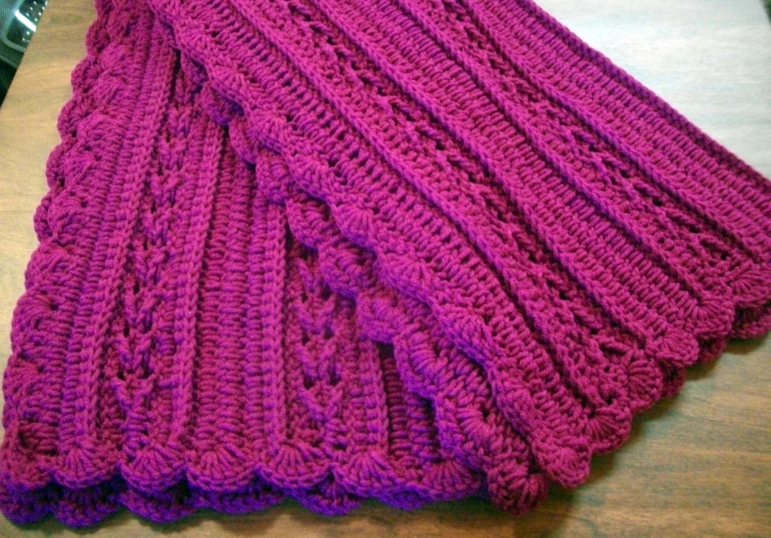 wheelchair blanket armchair covers pink crochet throw or baby