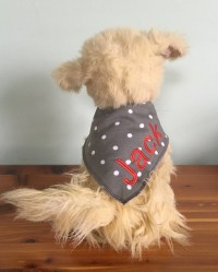 Dog Bandana Personalized Bandana Personalized Dog Bandana