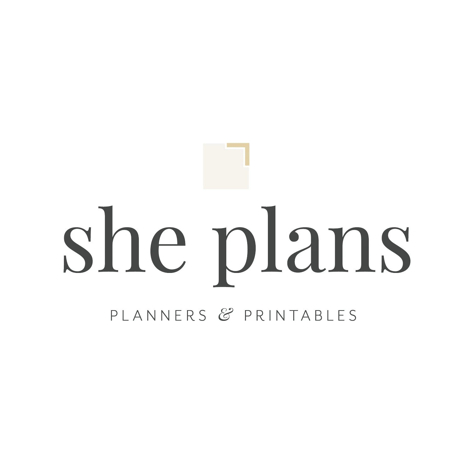 Planners Notebooks and Print & Plan printables by ShePlans