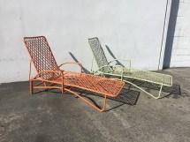 2 Brown Jordan Tamiami Adjustable Chaise Lounge Pool Patio