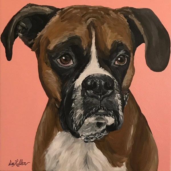 Boxer Dog Art Prints