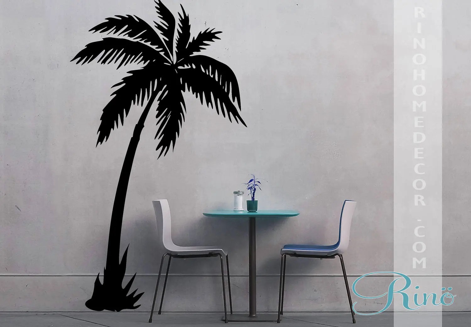 Palm Tree DECAL Vinyl Wall Stickers Wall Art Palmtree No